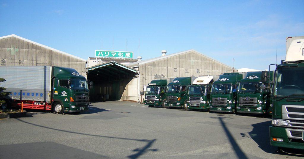 業務内容・保有車両・倉庫面積